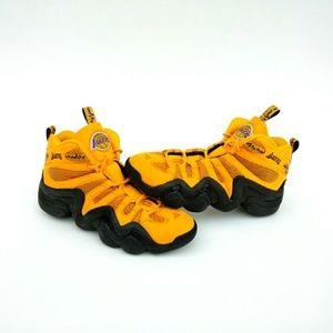 RARE Adidas Crazy 8 LA Lakers Edition Sneakers
